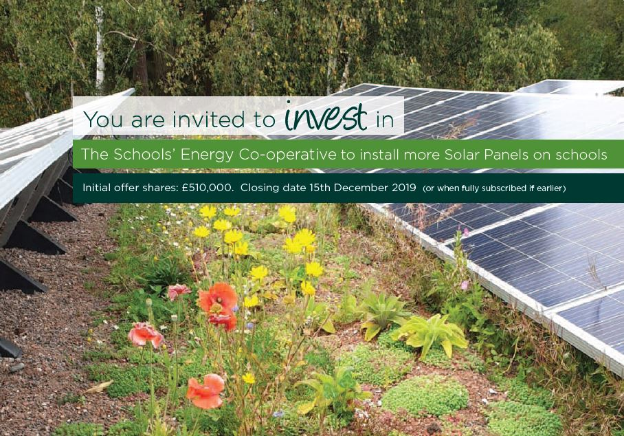Schools Energy Coop Share Offer Ealing Transition