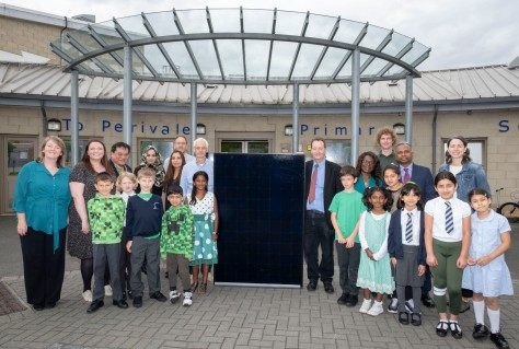England, UK . 20.6.2019. London . Schools Energy Co-op, Perivale Primary School. Licensed to Schools Energy Co-op for editorial use and PR distribution, all other rights reserved.